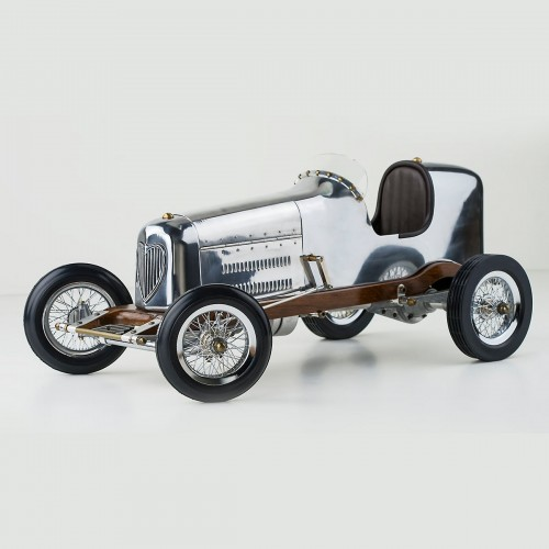 "Bantam Midget, 19"" - 1930s hand built model racecar"