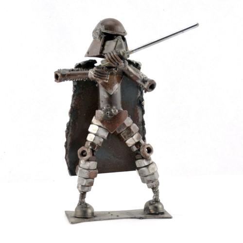 Darth Vader Star Wars Metal Sculpture : Scrap Metal Sculpture