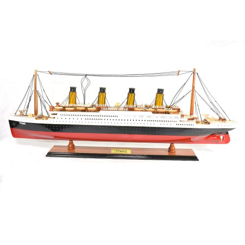 Titanic Wooden Cruise Ship Model