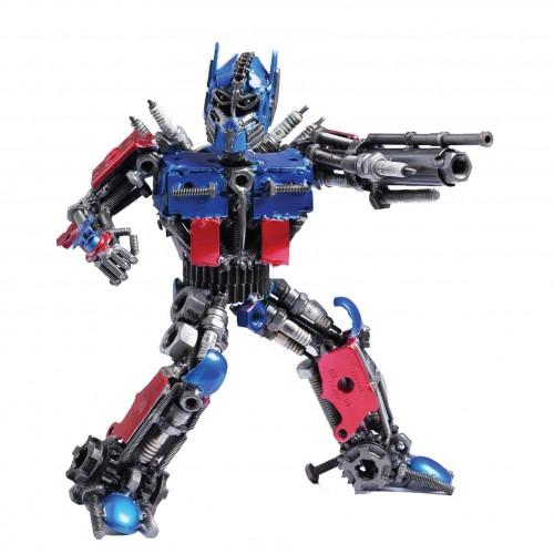 Transformers Optimus Prime Metal Sculpture - Optimus Prime