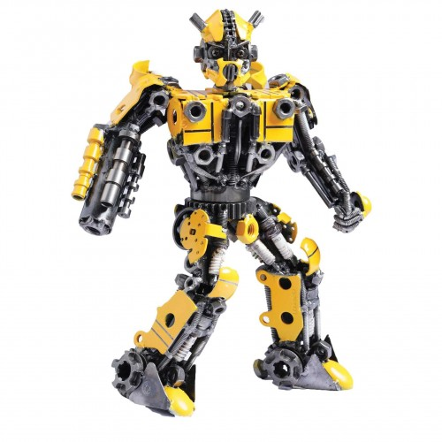 Transformers Bumblebee Mini Metal Sculpture - Autobots Transformer (v2)