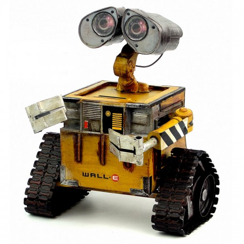 Wall-E Metal Robot Steel Metal Action Figure