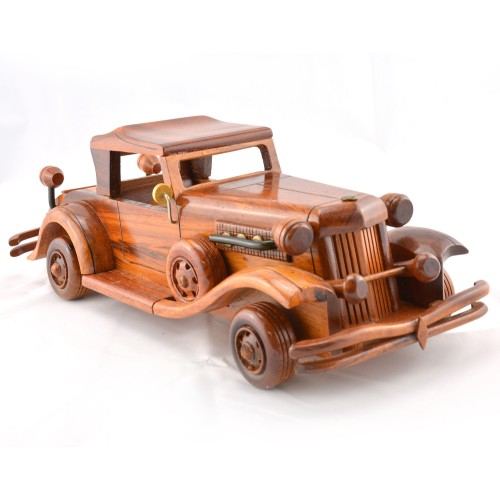 Duesenberg Wooden Car Model