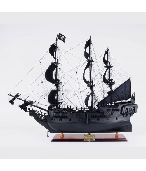 The Black Pearl : fictional model ship in Pirates of the Caribbean - 35