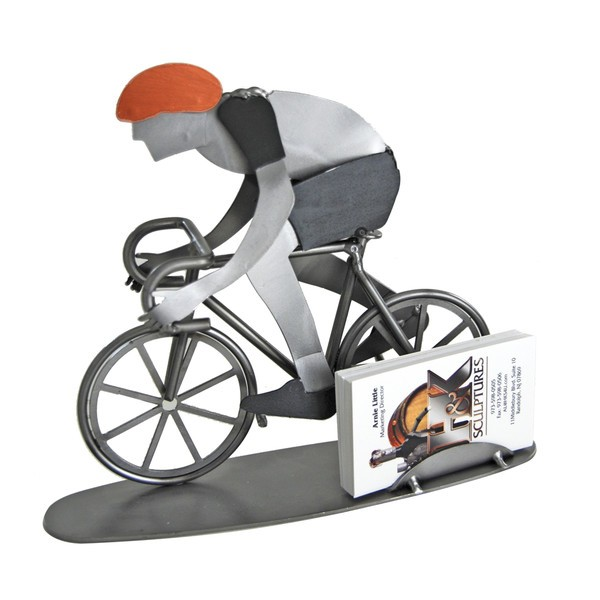 Bicycle rider business card holder colourmoves