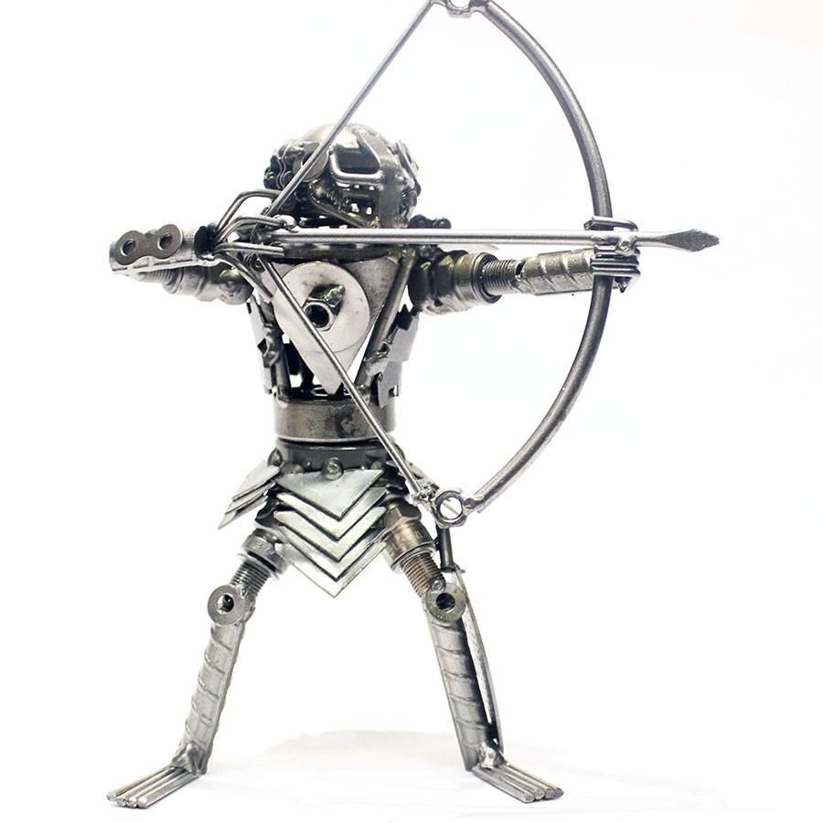 Predator Metal sculpture, Scrap Metal Art, recycled scrap ...