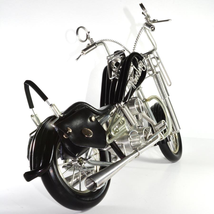 Wire Art Motorcycle : Harley-Davidson, Handmade Aluminium Wire Art ...
