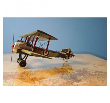 Handcrafted Iron framed 1916 Sopwith Camel F.1 scaled 1:20  plane model