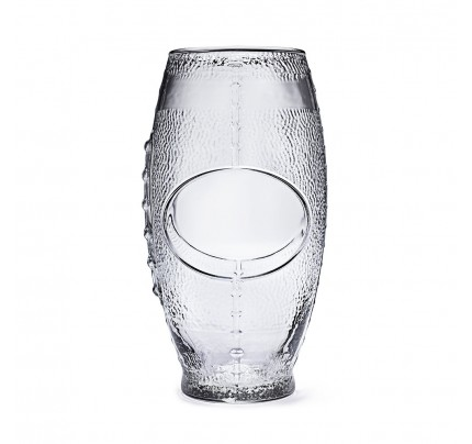 Personalized Football 24 oz. Beer Glass