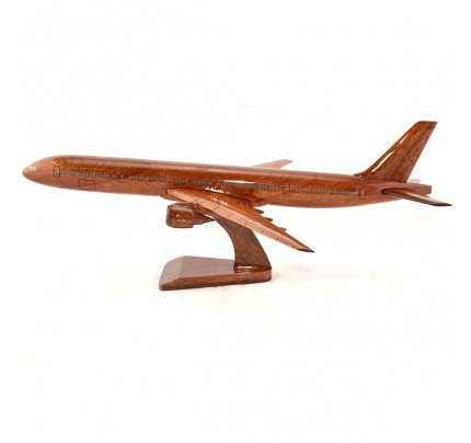 Boeing 777 wooden airplane model - B777