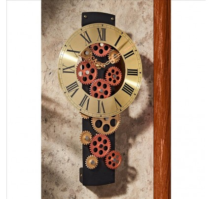 Cogs And Gears Mechanical Wall Clock