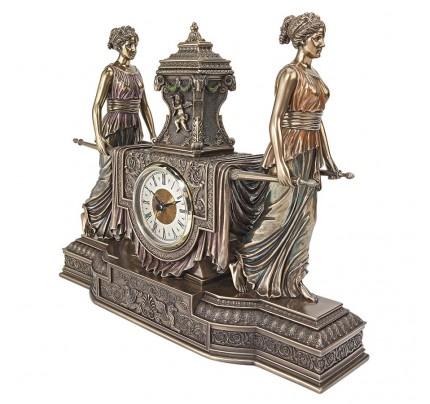 Versailles Maidens Mantel Clock