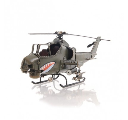 Ah-1G Cobra 1:16 scaled aviation model - Handcrafted Iron framed