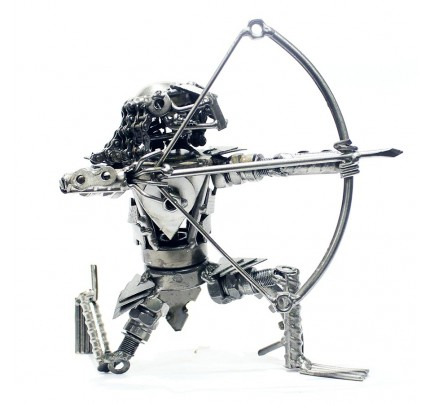 Predator Metal Sculpture : Recycled Metal art model