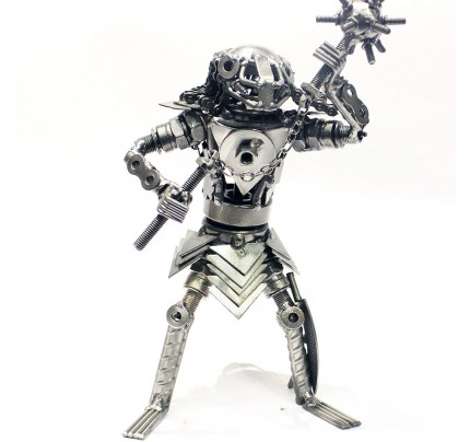 Predator Sculpture : Scrap Metal art Sculpture model (set 5)