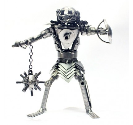 Predator Metal Sculpture : model | Scrap Metal Art - S7