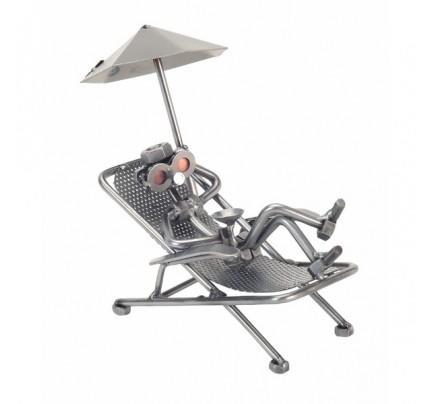 Beach Chair Sculpture