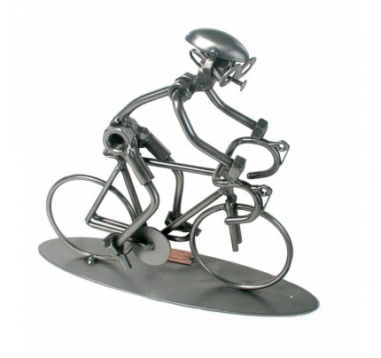 Bike Racing Sculpture