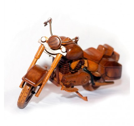 Wooden BMW Motorcycle : Handcrafted Model