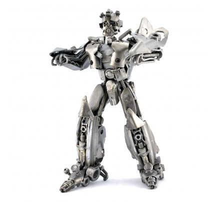 Robot Metal Sculpture - Look alike bumblebee