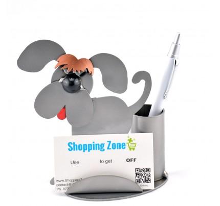 Dog Business Card Holder - Metal Business Card Holder