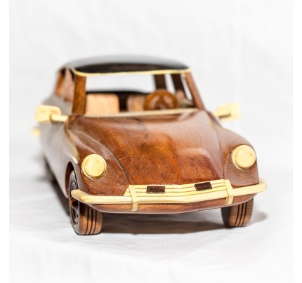 DS Pallas 1968 - Mahogany Wood Model Car