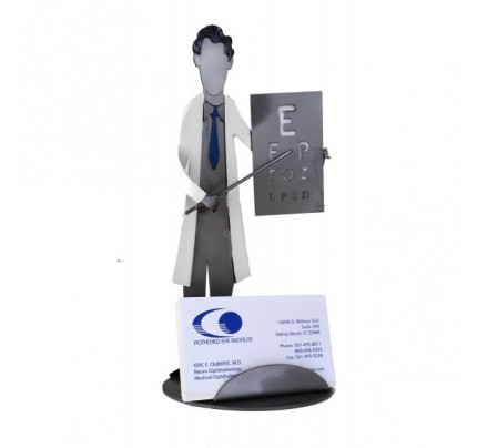 Eye Doctor Business Card Holder