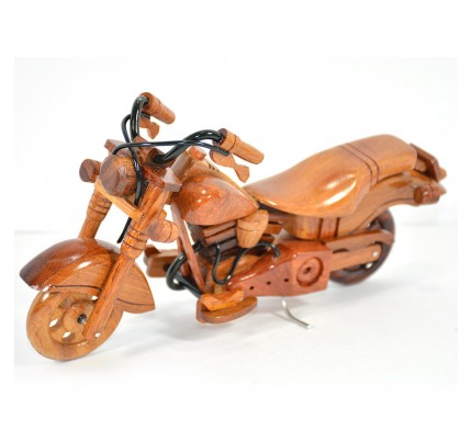 Harley Davidson Wooden Motorcycle Model : Fat Boy - Best Gift