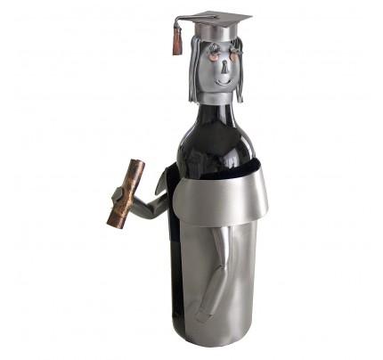 Female Graduate Wine Bottle Holder