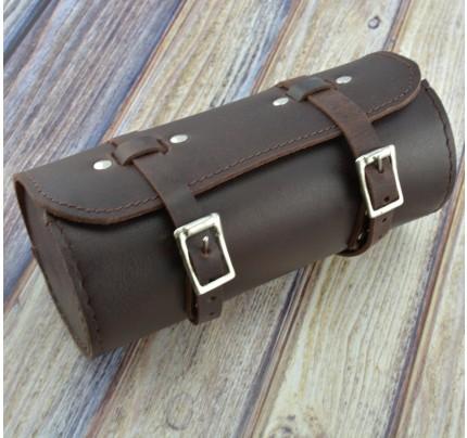 Leather VINTAGE Schwinn Bicycle Saddle Bag Utility Tool bag kit Chery