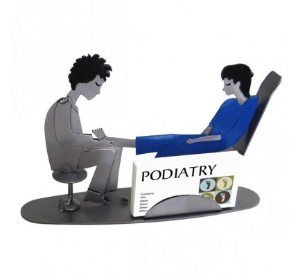 Doctor Podiatrist Female Business Card Holder