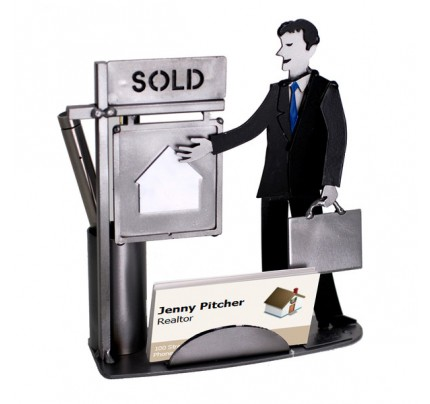 Real Estate (Realtor) Male Business Card Holder