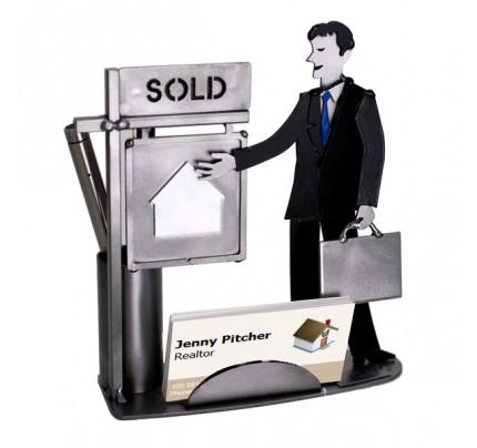 Real Estate (Realtor) Male Business Card Holder
