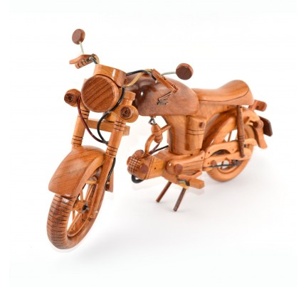 Wooden Motorcycle Model : Look alike Honda - Bike Desk Model