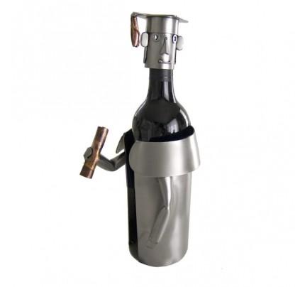 Male Graduate Wine Bottle Holder
