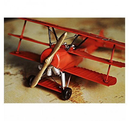 Vintage Plane Decor For Desk Room Or Gifts