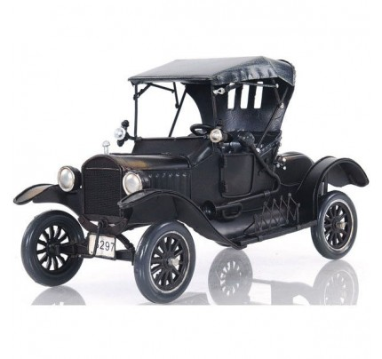 Black Ford Model T - Scale Model