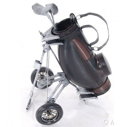 Black Golf Bag - Model