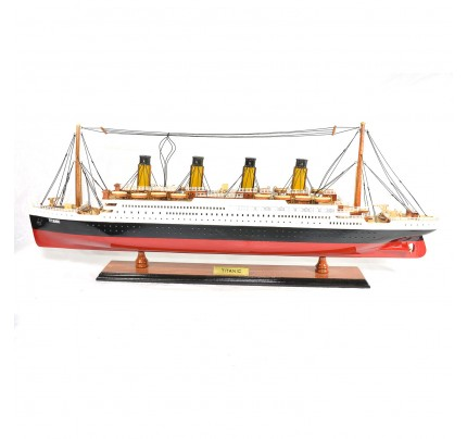 Titanic Wooden Cruise Ship Model - Titanic Replica Cruise Ship