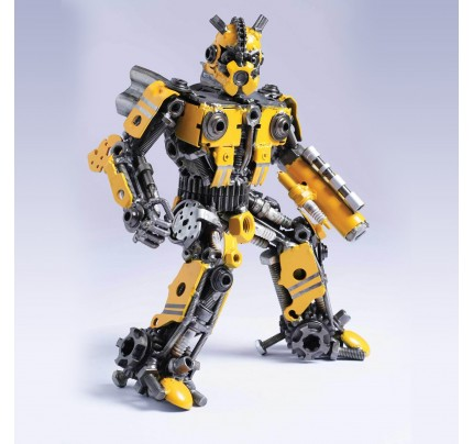 Transformers Bumblebee Mini Metal Sculpture - Transformer Autobots (v1)