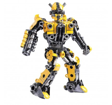 Transformers Bumblebee Mini Metal Sculpture - Autobots Transformer (v2)