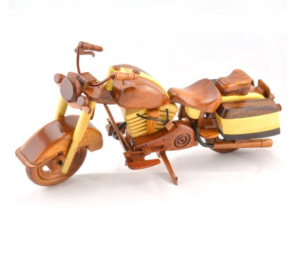 Wooden BMW Motorcycle Model : Wood Motorcycle ( 2 colors )