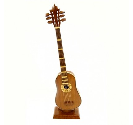 Wooden Classic Acoustic Guitar Model - Mahogany