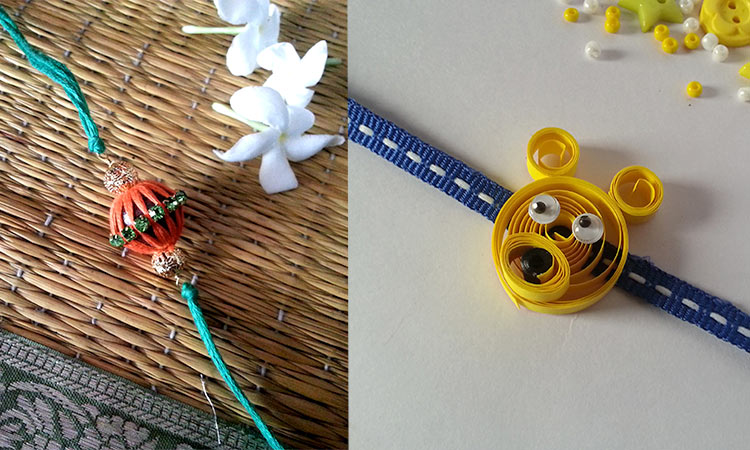 Send Rakhi & Rakhi Gifts to Canada & USA, Handmade Rakhi 2015